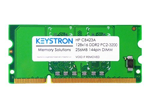 Keystron CB423A 256MB DDR2 144-pin DIMM Printer Memory for HP Laserjet P2015 P2015d P2015dn P2015n P2015x... ()