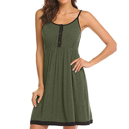 - Nevera Women Pregnant Maternity Breastfeeding Solid Sweetheart Wrap Spaghetti Dress Green
