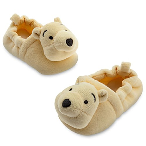 Winnie the Pooh Plush Slippers for Baby Size 12-18 Months