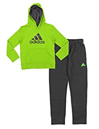Adidas Youth Big Boys Game Ready Hoodie And Pants Set, Color Options