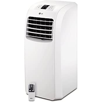 LG Electronics LP0814WNR 115 Volt Portable Air Conditioner With Remote  Control, 8000 BTU