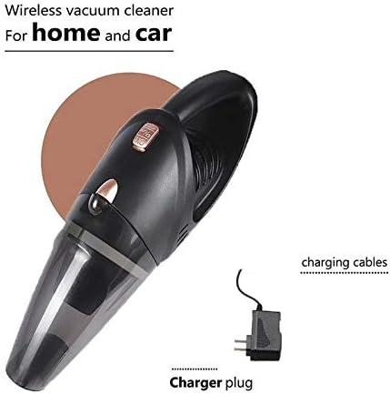 Gooyshqi HCYOZ-CAIXCQ aspirateur Voiture, Roman-Portable Voiture Vide sans Fil Batterie Rechargeable au Lithium, Aspirateur légère et Robuste en Aluminium Puissant Ventilateur.