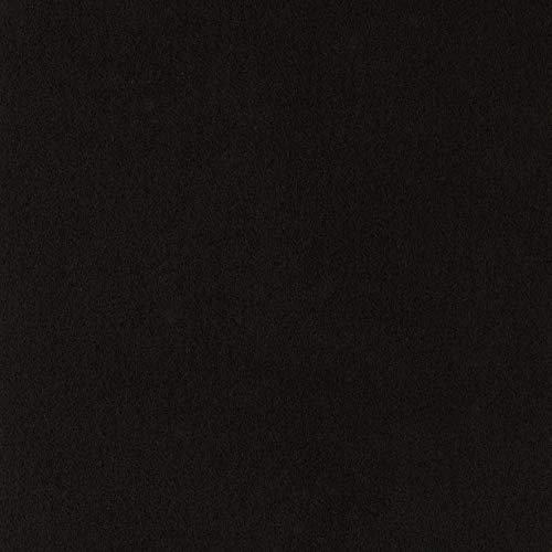 (Ultrasuede HP Solid Black Onyx Fabric by The Yard)