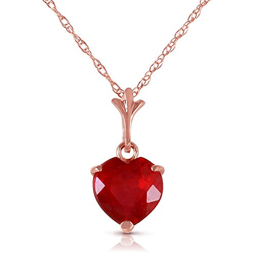 145-Carat-14k-Solid-Rose-Gold-Necklace-with-Natural-Heart-shaped-Ruby
