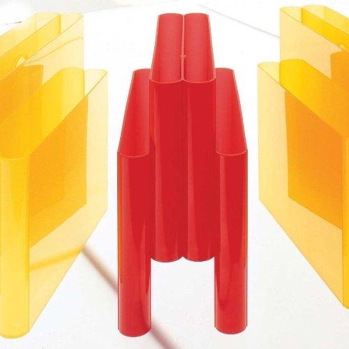 Kartell Kartell Kartell Zeitungsständer, Plastik, rot Orange portariviste 18.5 x 34.5 cm B004JYLTXA   Angemessene Lieferung und pünktliche Lieferung  e55146
