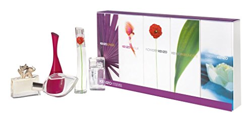 Kenzo Miniatures Collection 5 Piece Mini Gift Set for Women