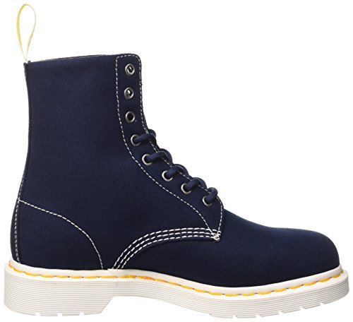 Dr. Martens Core Page Canvas Scarpe Low-Top, Unisex Adulto Blu (Navy)