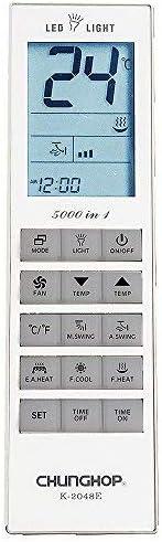 Linterna CHUNGHOP Mando Universal para Aire Acondicionado