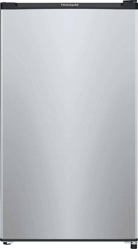 Frigidaire FFPE3322UM 19 Inch Freestanding Compact Refrigerator with 3.3 cu. ft. Capacity, in Silver Mist