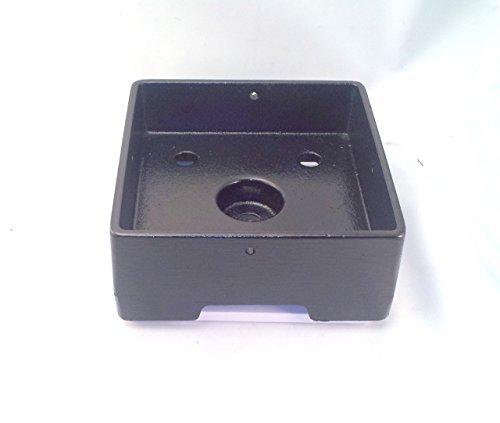 6x 6aluminio de post Anchor HD estructural–ornamental- recubierto de polvo