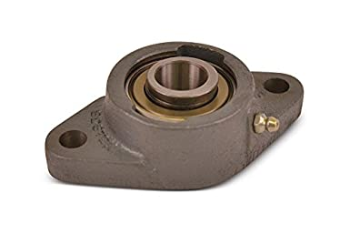 Boston Gear ST3//4 Mounted Bearing 0.75 Bore 2 Bolts Standard Duty Flange