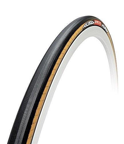 Tubular Resistance Tire Rolling - Tufo 700 x 21 Tufo S33 Pro Tubular Tire, Black/Beige