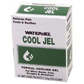 Burn Gel Water Jel Cool Jel Individual Packets 25/box
