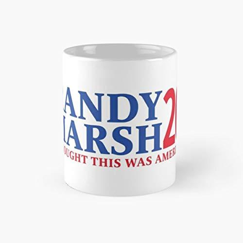RANDY MARSH '20 - I THOUGHT THIS WAS AMERICA! Mug, randy marsh Funny Mugs, 11 Ounce Ceramic Mug, Perfect Novelty Gift Mug, Tea Cups, Funny Coffee Mug 11oz, Tea Mugs ()