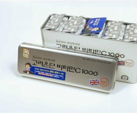 Korea EunDan Vitamin C 1000mg 1Box (300 Tablets) Health Supplement