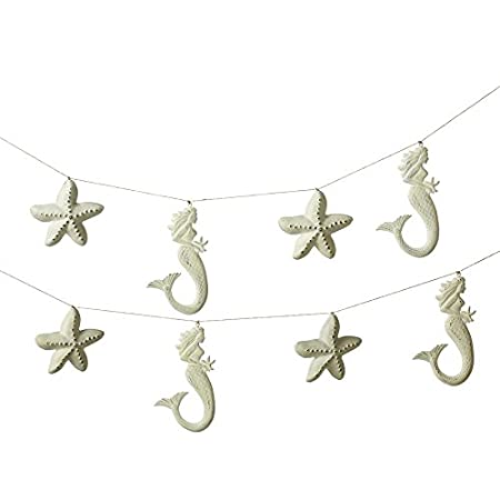 417DZwIa4JL._SS450_ Beachy Starfish and Seashell Garlands