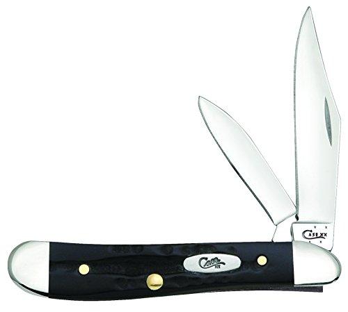 Case 65014 Buffalo Horn BH220 SS Peanut Knife