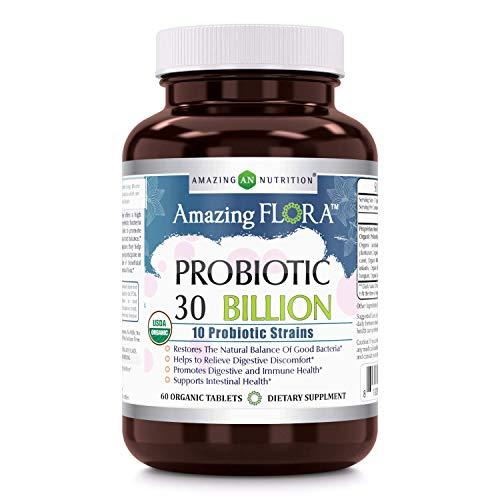 Amazing Flora-USDA Certified Organic Probiotic