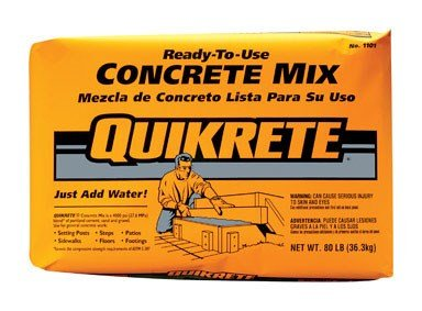 Quickrete 110180 80LB Concrete Mix by Quickrete