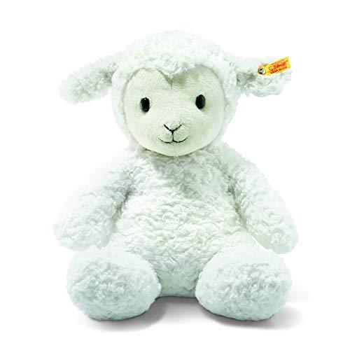- Steiff Stuffed Fuzzy Baby Lamb - Soft And Cuddly Plush Animal Toy - 16
