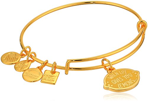 Alex And Ani Womens Charity By Design When Life Gives You Lemons Bangle