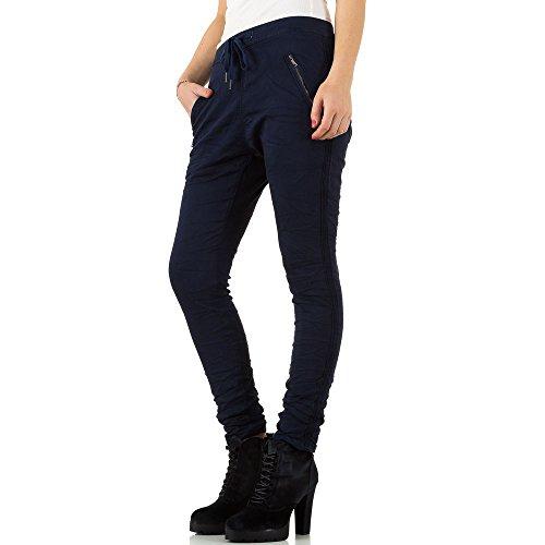 Low Boyfriend Jogger Jeans Für Damen , Dunkelblau In Gr. 38 bei Ital-Design