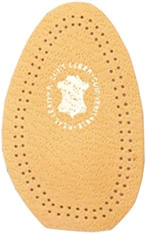 FabaCare Corbby Schuheinlage Half Drop, orthopädische Einlegesohle aus Leder mit Metatarsal-Pelotte, Einlage, EU 39 – 40