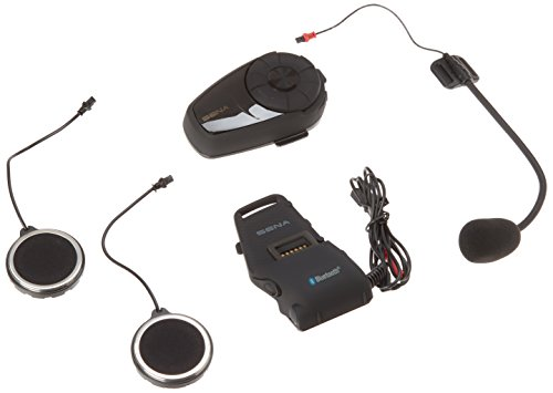 Sena 10S-01 Motorcycle Bluetooth Communication System by Sena