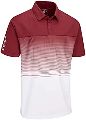 Stuburt SBTS1085 Mens Evolve Dalton Golf Polo Shirt Top Sbts1085 ...