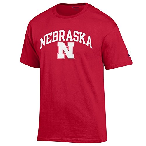 (Elite Fan Shop Nebraska Cornhuskers Tshirt Varsity Red - M)