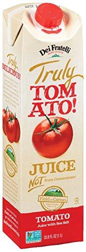 Dei Fratelli - Truly Tomato! Juice - 33.8 Fl. Oz - 6 pack