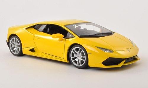 Lamborghini Huracan LP 610-4, met.-yellow , Model Car, Ready-made, Bburago 1:18