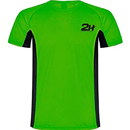Camiseta técnica de pádel 2H Green Wing Man: Amazon.es ...