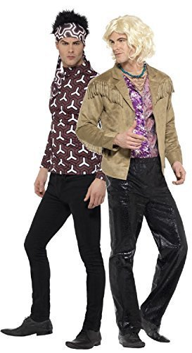 Couples Mens Zoolander Derek & Hansel Groom Best Man Stag Do Night Party Fun Comedy Film Fancy Dress Costumes Outfit (Medium - Large)