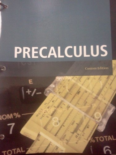 Precalculus (Custom Edition for the University of South Carolina)