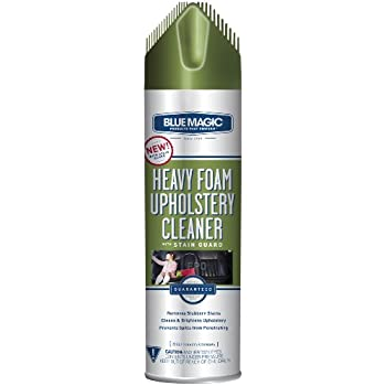 Blue Magic 914 Heavy Foam Upholstery Cleaner with Stain Guard - 22 oz.