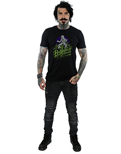 Faded Pose Noir T Absolute Homme Cult shirt Beetlejuice qwffBgxt