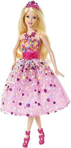 Amazon.com: Barbie Feliz Cumpleaños Barbie (CFF47): Toys & Games