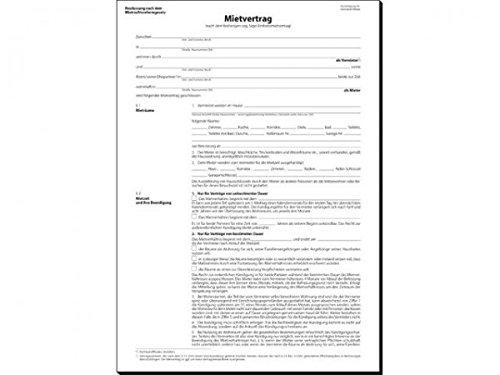 Mietvertrag 6-Seitig Mv466 25St