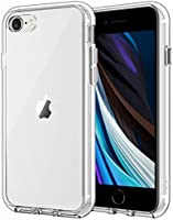 JETech Case for Apple iPhone SE 2nd Generation, iPhone 8 and iPhone 7, 4.7-Inch, Shockproof Bumper Cover, Anti-Scratch