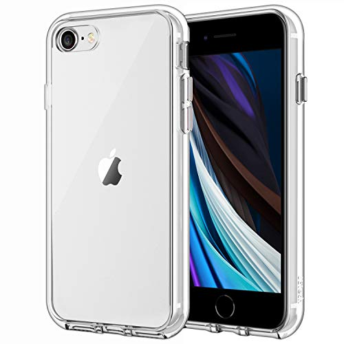 Jetech Case For Apple Iphone Se 2020 2nd Generation Iphone 8 And Iphone 7 4 7 Inch Shockproof Bumper Cover Anti Scratch Clear Back Hd Clear Amazon Price Tracker Pricepulse