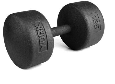 York Legacy Solid Round Pro Dumbbell 5-100 Set