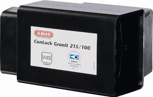 ABUS 215/100 Granit ConHasp with High-Security Shipping Container Lock