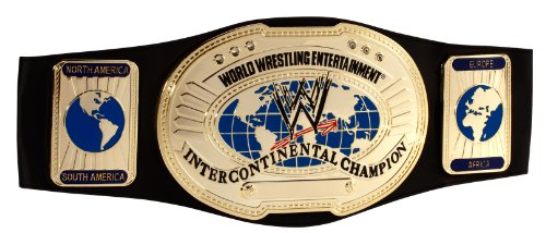 WWE Intercontinental Championship Belt by Mattel