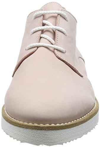 Fred de la Bretoniere Fred Lace Up Shoe White Sole Vigo - Zapatos de cordones derby Mujer Rosa - rosa (Rose)