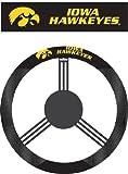 Kyпить NCAA Iowa Hawkeyes Polysuede Steering Wheel Cover на Amazon.com