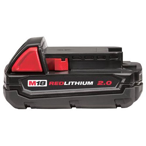Milwaukee 48-11-1820 M18 18v REDLITHIUM 2.0 Compact Battery Pack (Milwaukee Compact)