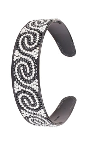 Great Gatsby Flapper Inspired Handmade Fashion Headband  Hairband with a Rhinestone Twist Design