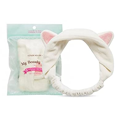 [ETUDE HOUSE] My Beauty Tool Lovely Etti Hair Band (Free, white)