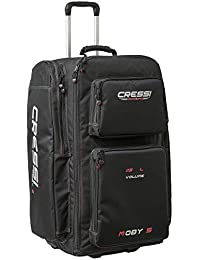 Strong Large Capacity Roller Luggage Bag 115L with Backpack Straps | Moby 5 designed in Italy